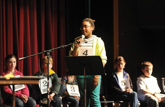Coralee LaRue wins Martha's Vineyard Schools Spelling Bee - The