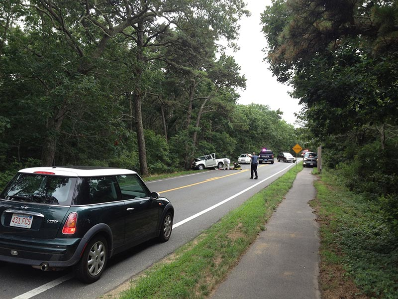 Driver said fatigue was cause of Saturday West Tisbury crash - The