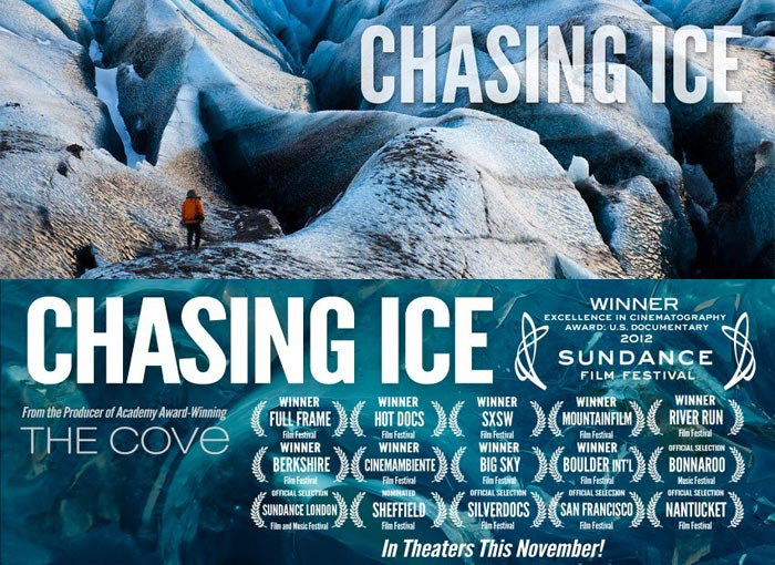 "Chasing Ice"" visualizes devastation of global warming - The Martha's  Vineyard Times"