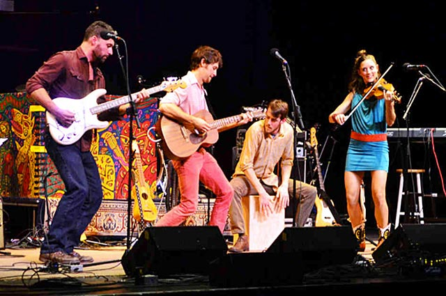 David Wax Museum brings Americana and world sounds to Flatbread