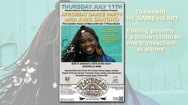 Awa Sangho of Mali brings her Afrobeat dance party to Flatbread