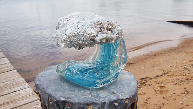 martha s vineyard divers find glass sculpture treasure the