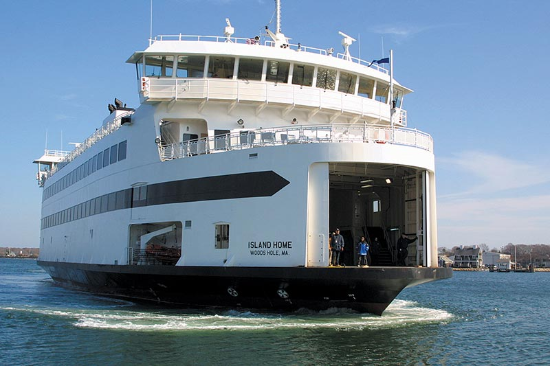 Martha's Vineyard ferry service is weather and design ...