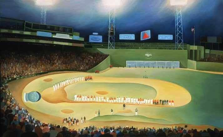 Island painters capture Fenway Park, Red Sox capture them - The ...