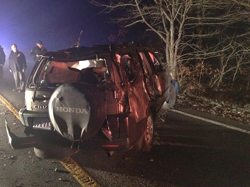 off duty west tisbury police officer accused of oui after rolling car the martha 39 s vineyard times. Black Bedroom Furniture Sets. Home Design Ideas