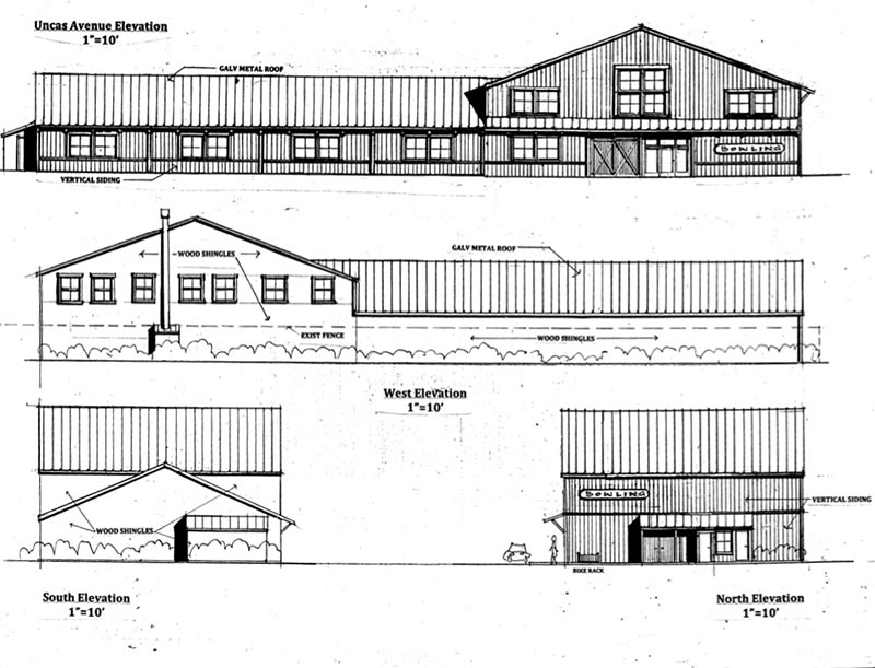 Oak bluffs board approves bowling alley plan martha 39 s Bowling alley floor plans