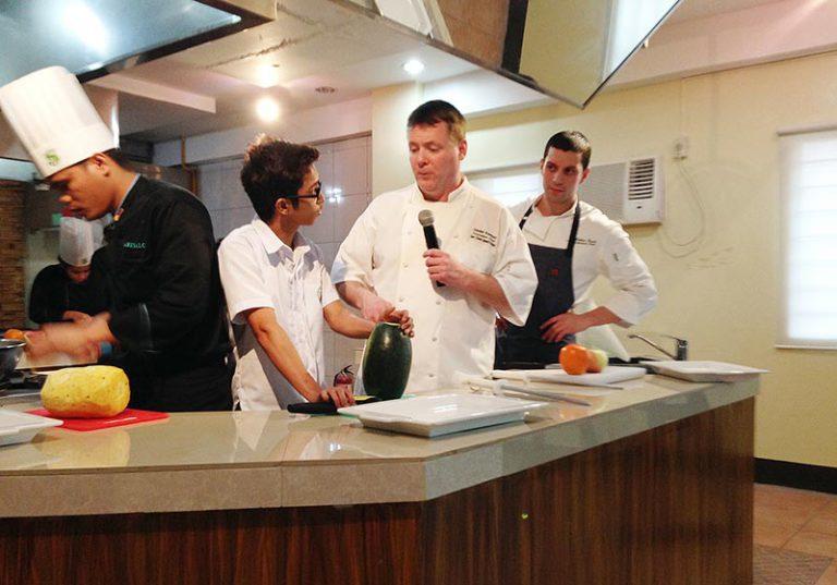 Island chefs travel to Philippines