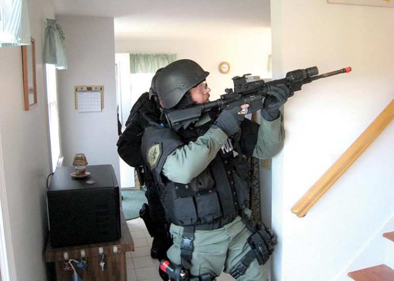 Tactical response? Island force now ready to react