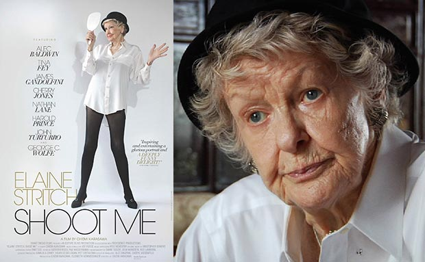 """""""Elaine Stritch — Shoot Me"""" is one of three documentaries coming to the Film Center this week."""