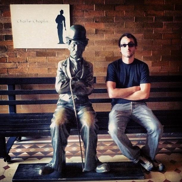 Charlie, with Charlie Chaplin.