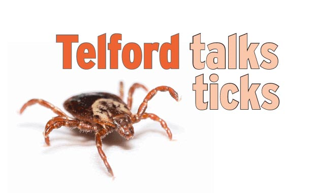 Telford talks ticks - The Martha's Vineyard Times