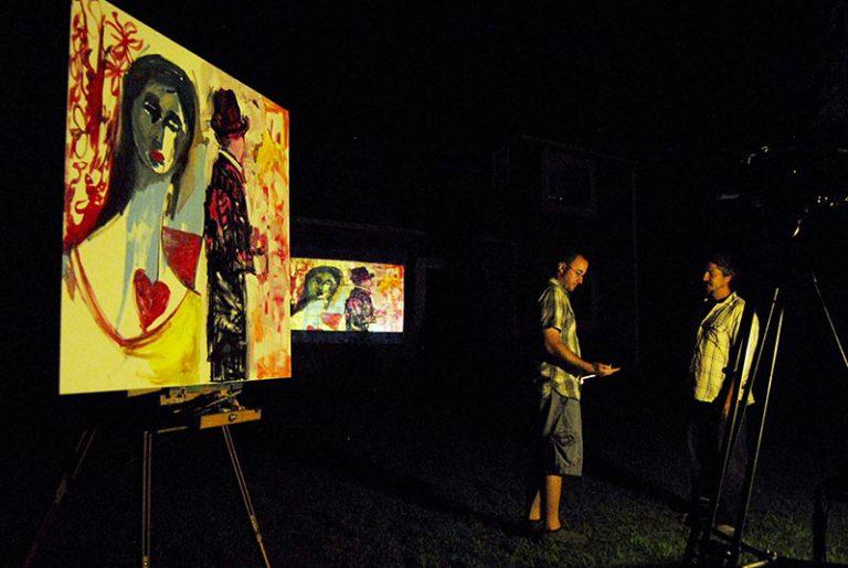 Street Light Art: A performance art event on Saturday