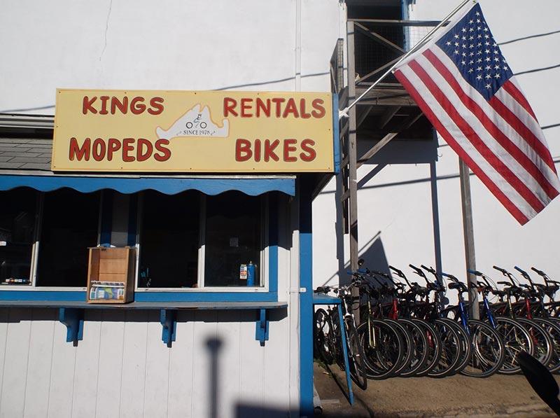 King S Bike Moped Rental Directories Vineyard Visitor