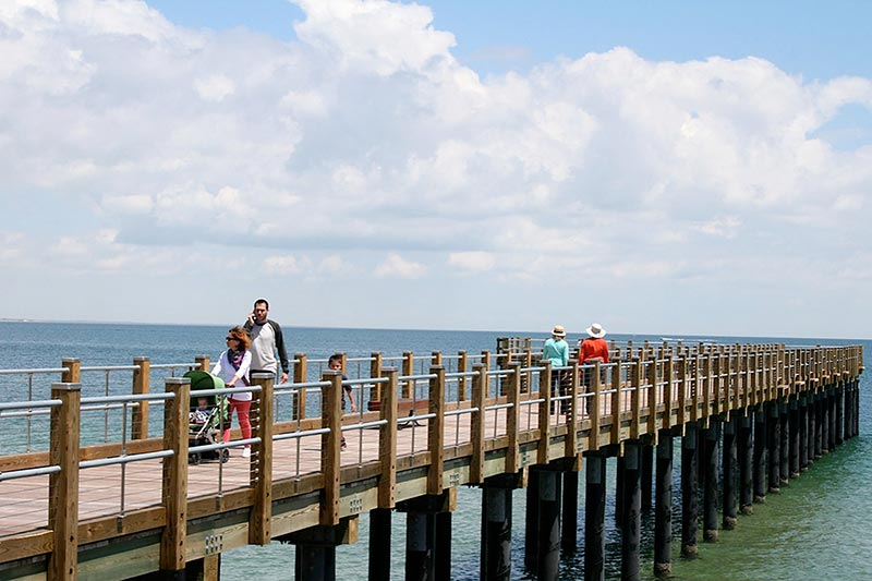 mvc waters down request for solar lights on new state fishing pier, Reel Combo