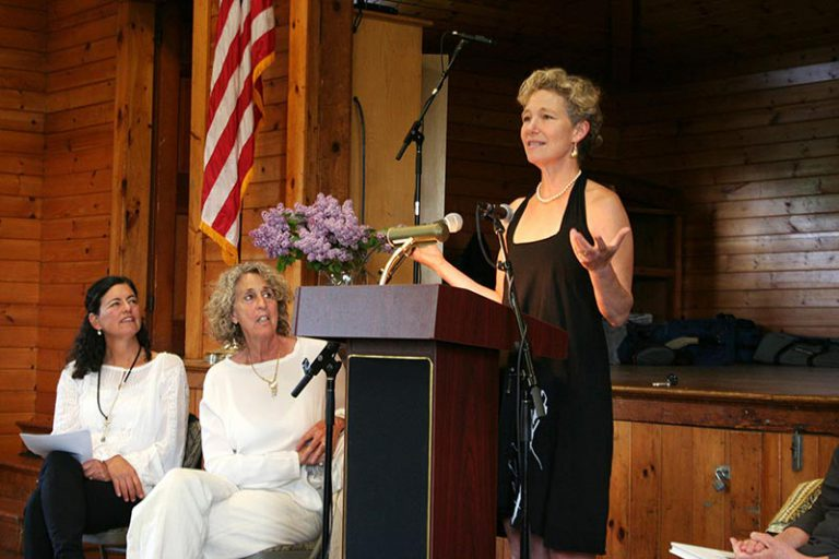 An evening of 'Poems from the Pond' and remembering Peggy Freydberg