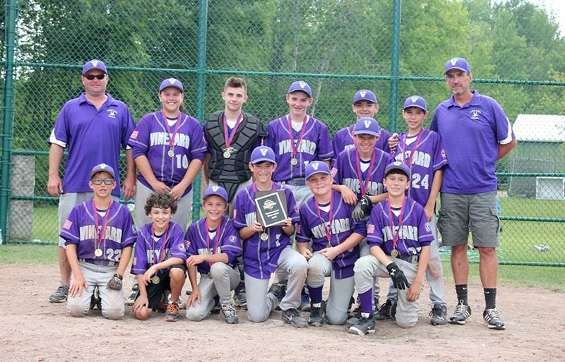 Mv 13u Baseball All Stars Win Dan Duquette Summer Tournament The Martha S Vineyard Times