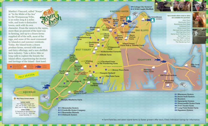 Martha 39 s vineyard interactive farm map find farm fresh for Martha s vineyard fishing charters