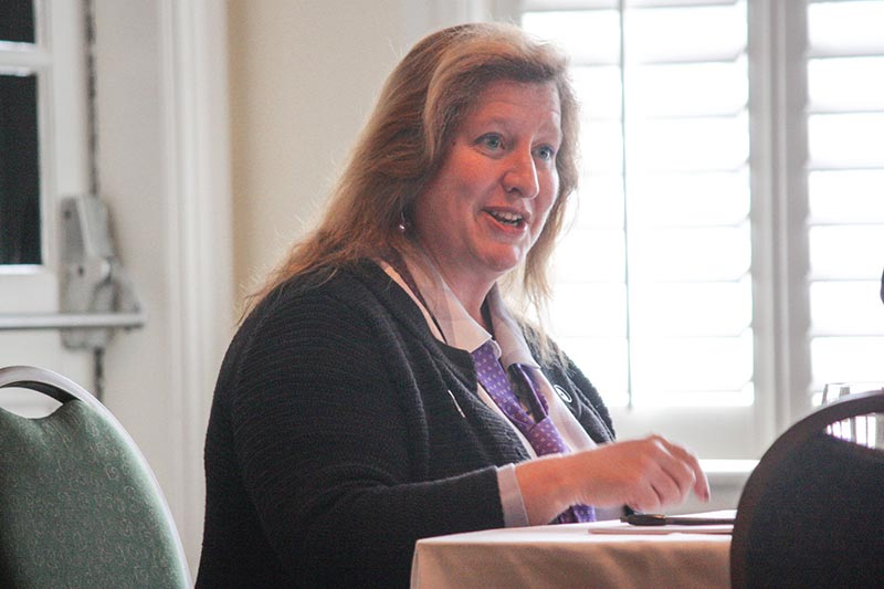 Ann Crook is the new manager of Martha's Vineyard Airport - The
