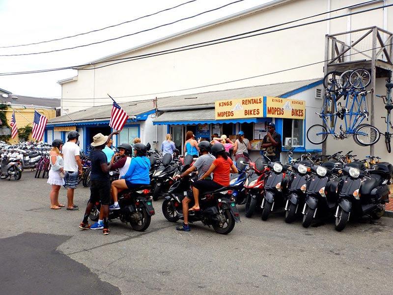 Teen visitor loses leg in Martha's Vineyard moped accident