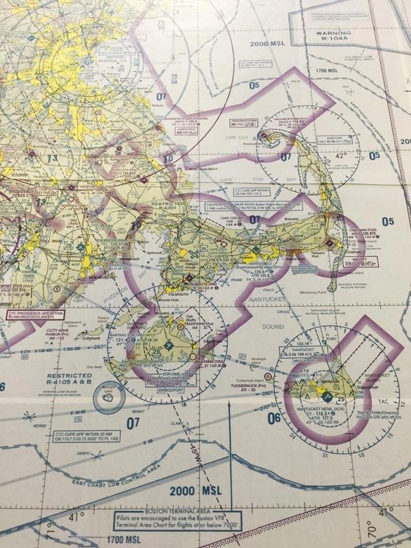 a uscg aeronautical map of marthas vineyard and its environs rich saltzberg