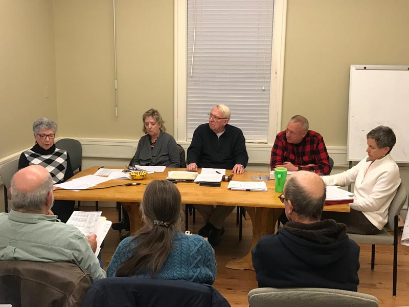 West Tisbury Committee Recommends Chilmarkers Alone Pay Costs Of