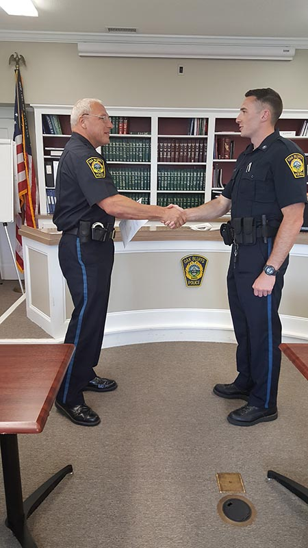 Oak Bluffs Police Department adds to its rank - The Martha's