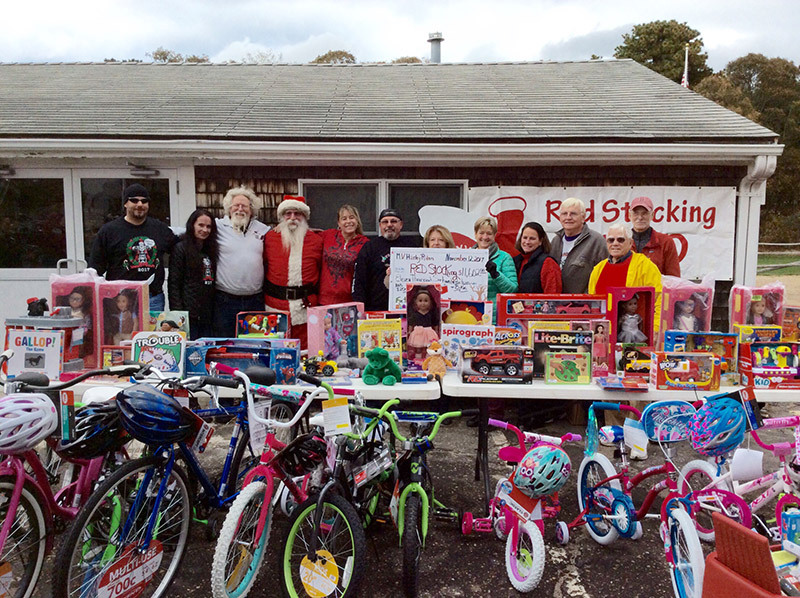 Toys For Tots Volunteer : Harley toys for tots raises the martha s vineyard times