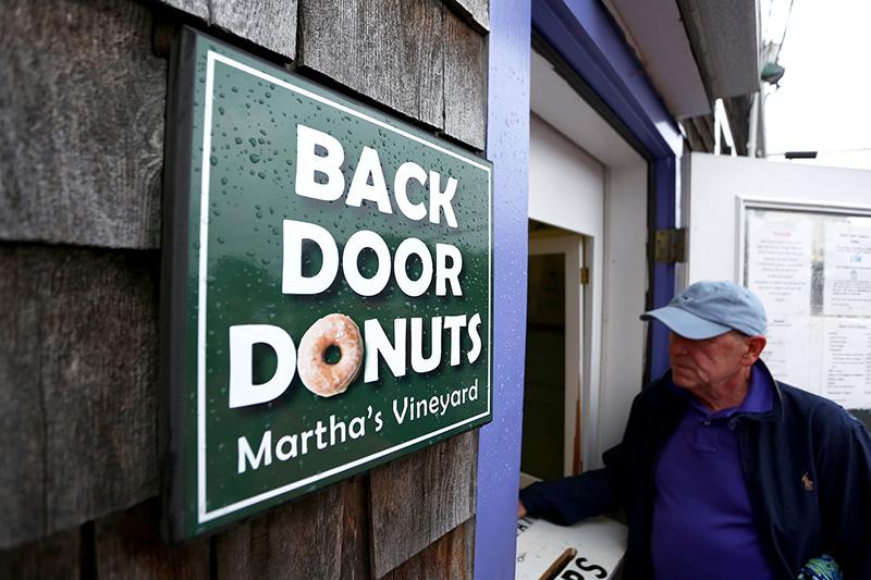 Back ... & Back Door Donuts sold - The Marthau0027s Vineyard Times