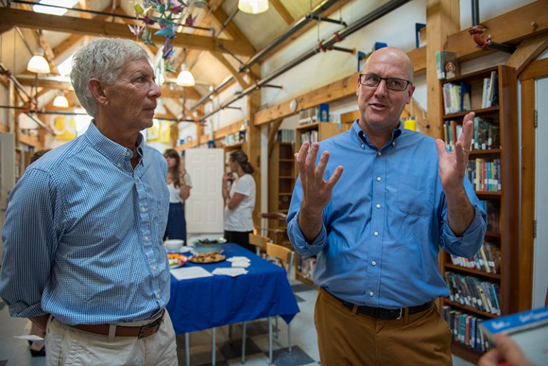 Steedman: 'Buildings don't make schools, people do'