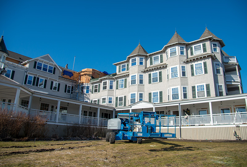 Fire Damages Building At Harbor View In Edgartown The Martha S