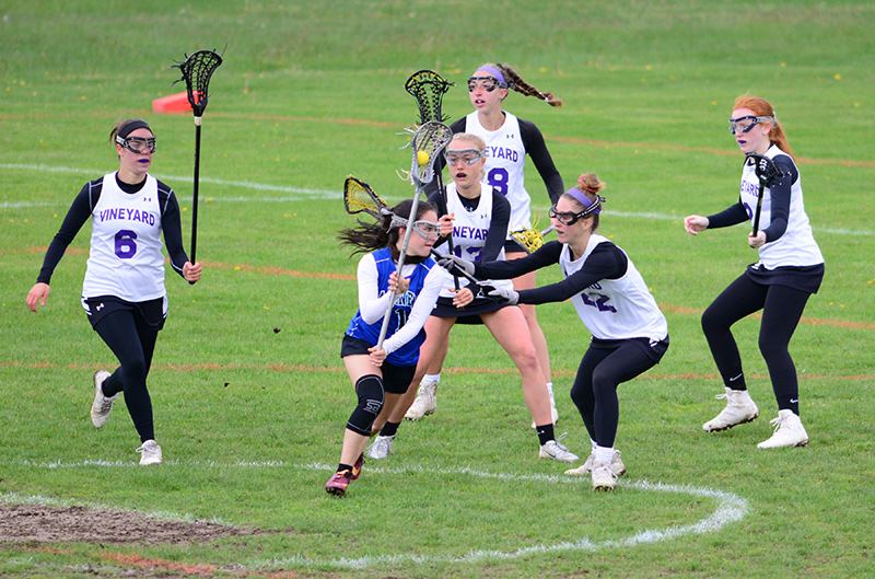 Girls lax tops Falmouth Academy - The Martha's Vineyard Times