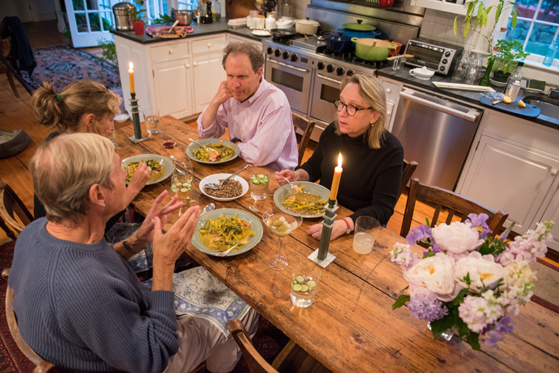 A Narrow Dining Table The Martha S Vineyard Times