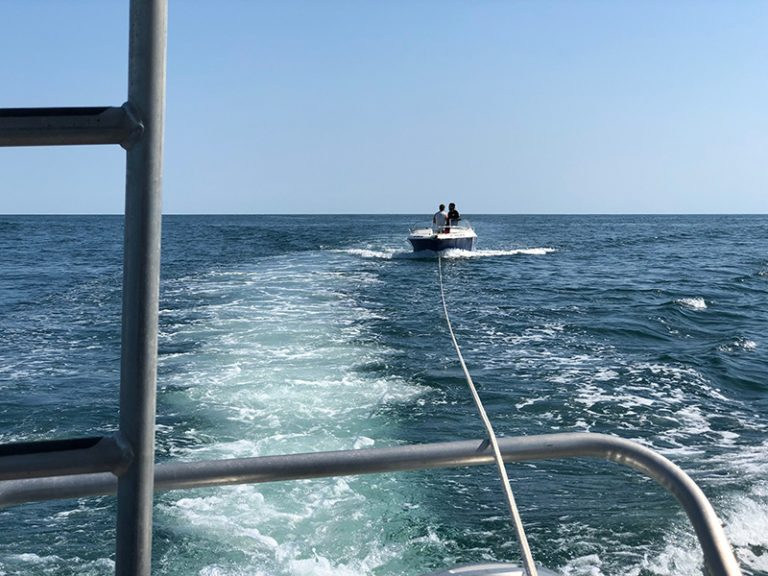Station Menemsha aids boaters off Nomans