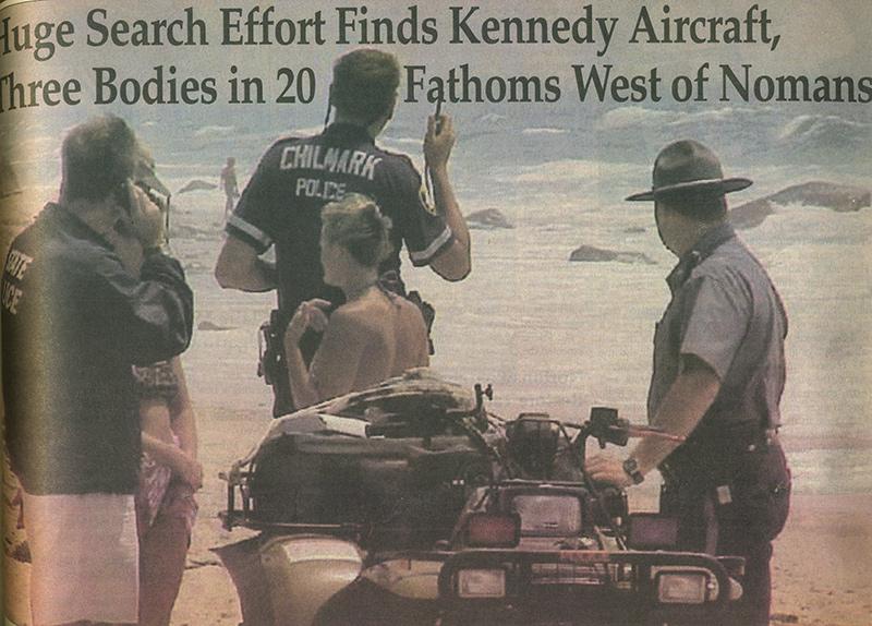 Island remembers J F K  Jr  plane crash - The Martha's Vineyard Times