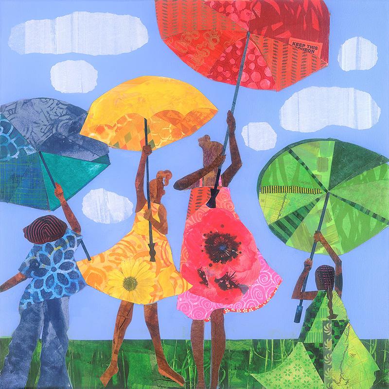 Artist and Illustrator Ekua Holmes at Cousen Rose Gallery - The Martha's  Vineyard Times