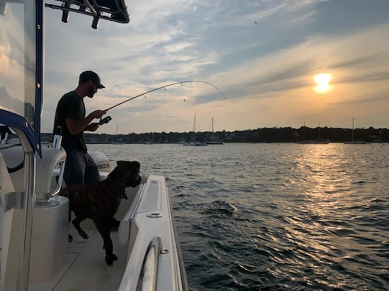 Fishing is heating up