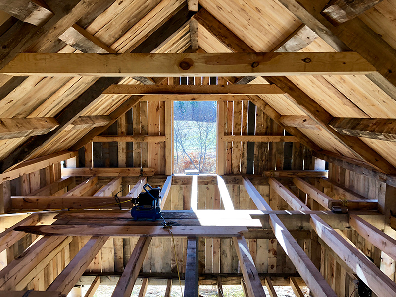 Building a barn from scratch - The Martha\'s Vineyard Times