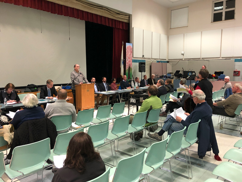 OB voters approve all at special town meeting - Martha's Vineyard Times