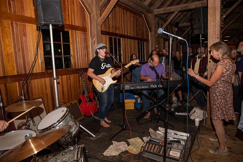 Dessert and dancing at the Barn Raisers Ball - The Martha ...