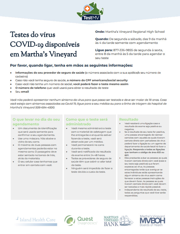 Saudade: News from and for the Brazilian community/Notícias de e para a  comunidade brasileira - The Martha's Vineyard Times