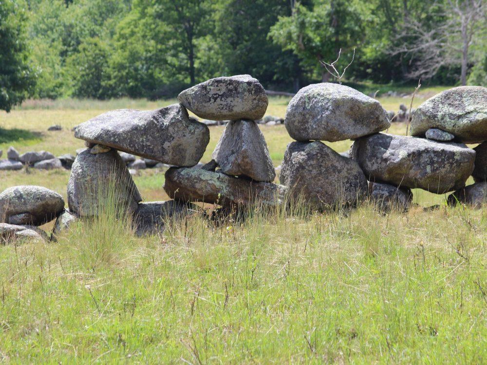 Waskosim's Rock Reservation  -Kate Warner